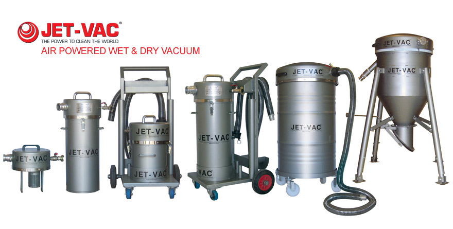 Mud Vac Amp Jet Vac Air Powered Suction And Discharge System